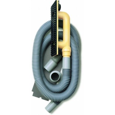 Drywall sander vacuum attachment.