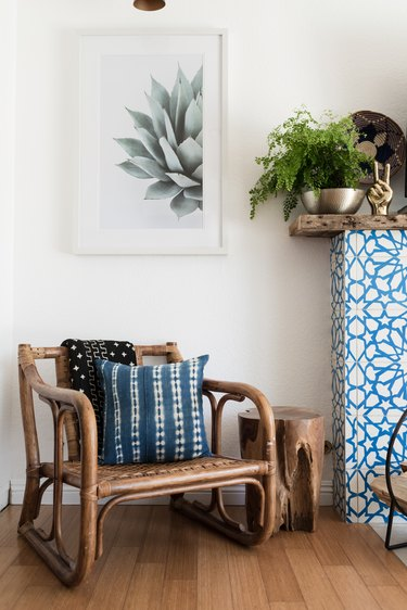 Set your space off with a unique side table.