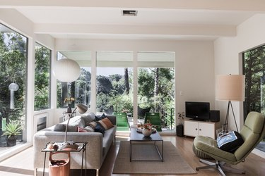 Brian Lane and Lucy Gonzalez Home Tour - Living Room