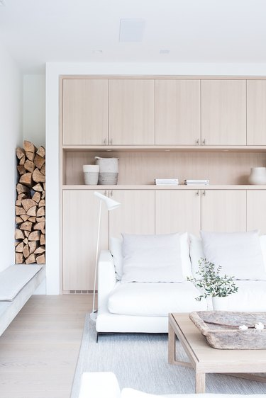 Living room storage ideas with cabinetry