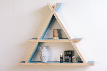 A-Frame Wall Shelf