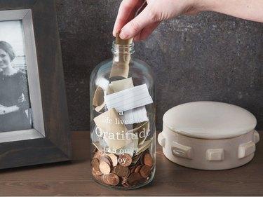 studio penny gratitude jar
