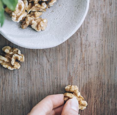 walnuts for wood scratches