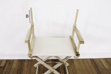 Measurement for chair back height
