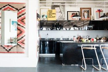 Iris Alonzo loft - kitchen