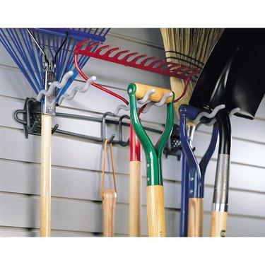 Long handled tools- wall