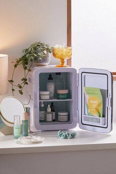 Cooluli Classic 10L Mini Beauty Refrigerator