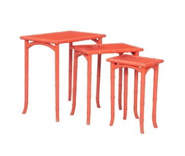 well appointed house bamboo nesting tables