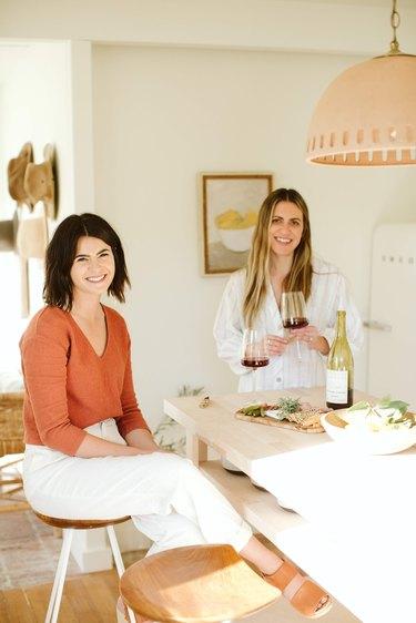 Lauren O'Keefe and Alana Stipech