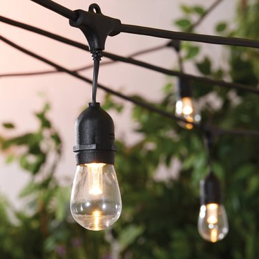 Better Homes & Gardens 22ft Outdoor LED Cafe String Lights