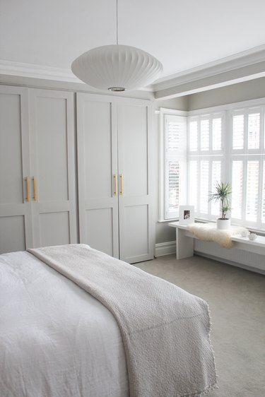 Organized zen bedroom ideas