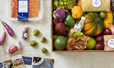 healthy meal kit delivery service