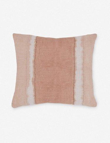colorblock pillow