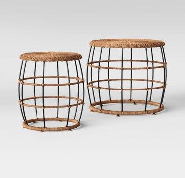 Opalhouse Nesting Patio Tables, $159.99