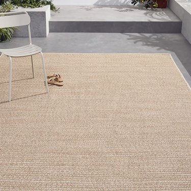 West Elm Woven Cable All Weather Rug, starting at $55