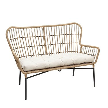 Pier1 Sand Chat Settee, $249.99