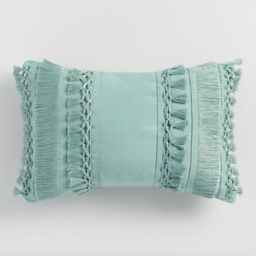 World Market Lumbar pillow