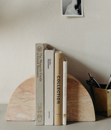 soapstone bookends