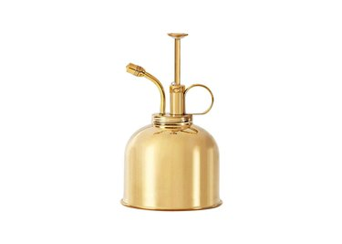 sustainable brass plant mister