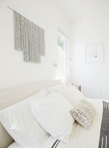 macrame, woven wall hanging