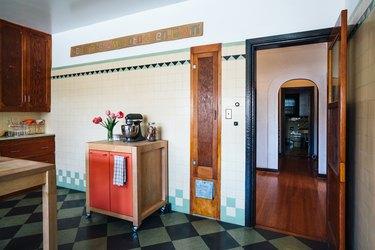 Scout Regalia Checkerboard Kitchen Floor