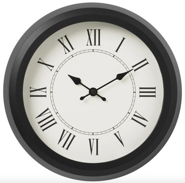 Nuffra Wall Clock, $12.99