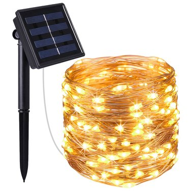 Solar Powered Copper Wire Fairy Lights
