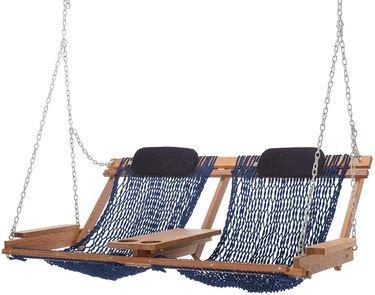 Nags Head Hammocks Cumaru Deluxe Double Porch Swing, $549