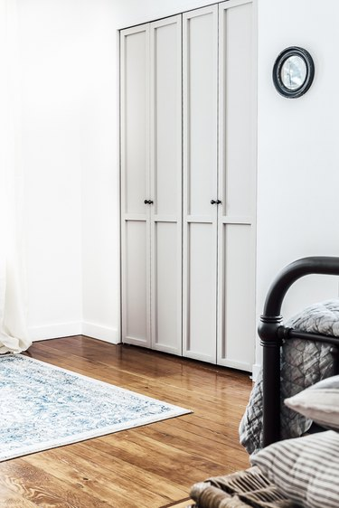 Contemporary taupe closet door ideas for bedrooms