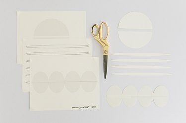 Print and cut out the template designs you plan to use.