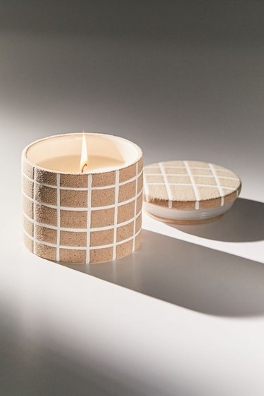 UO noah printed ceramic candle