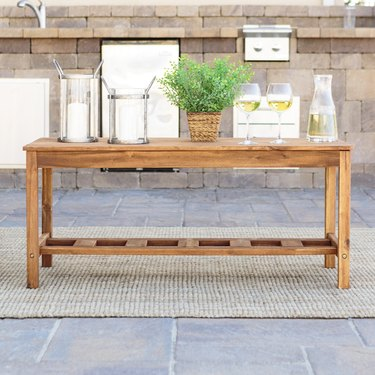Manor Park Solid Wood Outdoor Patio Coffee Table