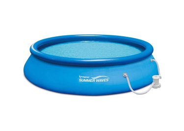 summer waves inflatable pool