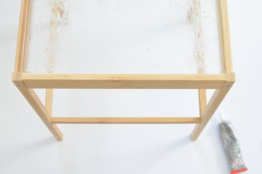 Nesna Bedside Table IKEA cane hack