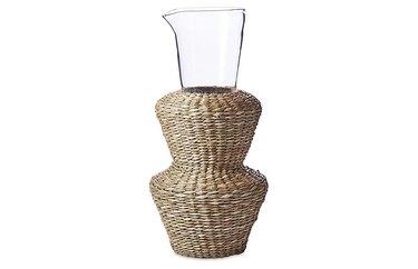 One Kings Lane Seagrass Vase, $23.99