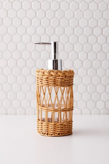 Urban Outfitters Woven Soap Dispenser, $24