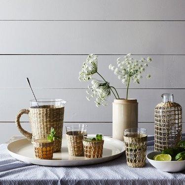 seagrass glassware