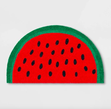Sun Squad Watermelon Doormat, $13
