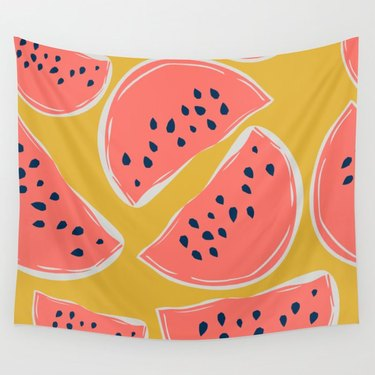 Society6 x Miaya Watermelon Tapestry, $31.49