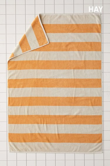 HAY Striped Towel, $49