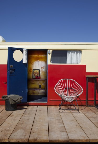 This Funky Marfa Hotel Features Yurts and Vintage RVs