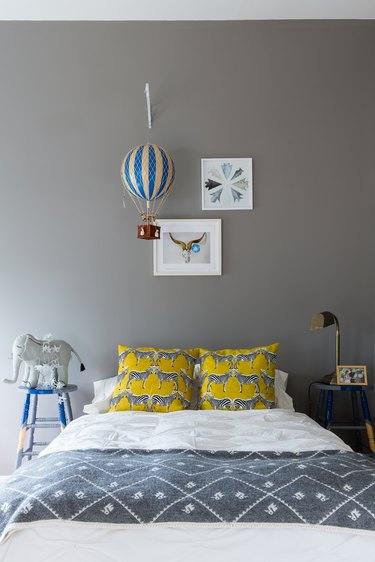 The child's bedroom