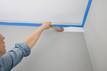 painting top of wall