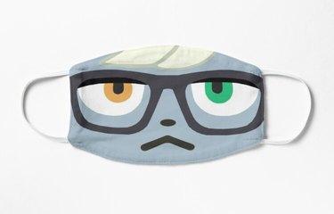 raymond animal crossing face mask