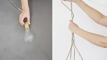 Assembling lamp kit