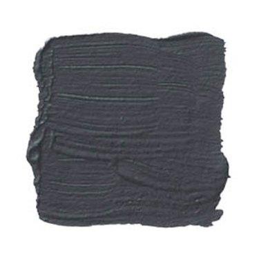 Benjamin Moore black paint