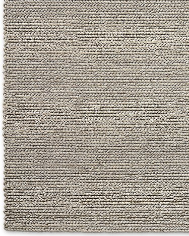 Area rug in a natural material