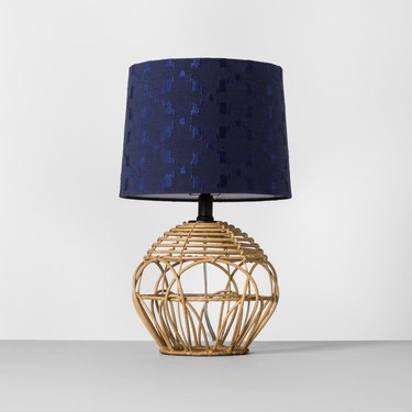 Target Opalhouse Rattan Table Lamp