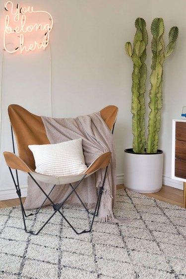 Parachute founder Ariel Kaye bohemian living room