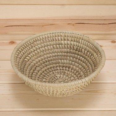 Woven decorative basket